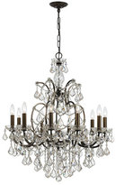 Swarovski Crystorama Filmore 10-Light Bronze Chandelier