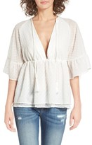 Majorelle Women's Hibiscus Top