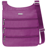 Baggallini Magenta Big Zipper Crossbody Bag