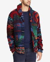 Polo Ralph Lauren Men's Iconic Patchwork Wool Cardigan