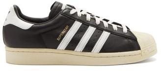 adidas Superstar Vintage Leather Trainers - Black Multi