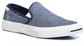 Converse Jack Purcell II Striped Slip On Sneakers