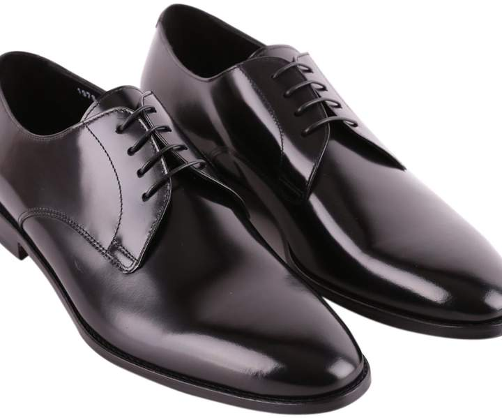 Doucal's Leather Lace-up Shoes Old