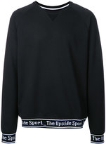 The Upside logo embroidered sweatshirt - men - Cotton/Polyester/Spandex/Elastane - M