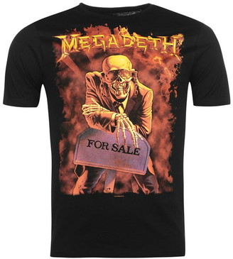 Official Megadeth Band T Shirt
