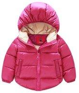Azyuan Baby Boys' Girls' Winter Puffer Coat Thicken Down Jacket Outwear 18-24M