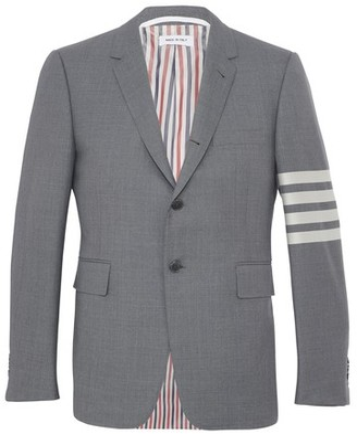 Thom Browne 4-Bar woollen blazer
