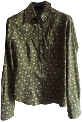 Etro Khaki Cotton Top for Women