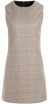 Alice + Olivia Coley Tweed Shift Dress
