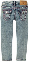 True Religion Sweet Lilac Allover Single Jean (Toddler & Little Girls)