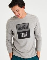 American Eagle Outfitters AE Long Sleeve Crew Graphic Tee