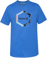 Hurley Men's Outlier Premium Graphic-Print Logo T-Shirt
