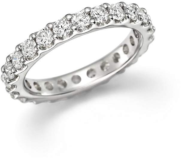 Bloomingdale's Diamond Eternity Band in 14K White Gold, 1.50 ct. t.w.