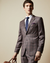 Ted Baker JAWDUNJ Wool checked jacket