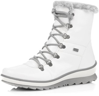 Remonte Hella Faux Fur Lined Lace-Up Boot
