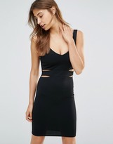 Oh My Love Mini Bodycon Dress With Cut Outs