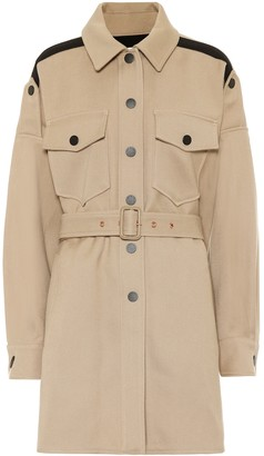 See by Chloe Cotton-blend coat