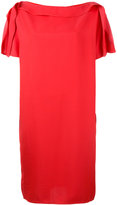 Gianluca Capannolo pleated sleeves dress - women - Viscose - 42