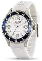 Sector Men's R3251161006 Analog Display Quartz White Watch