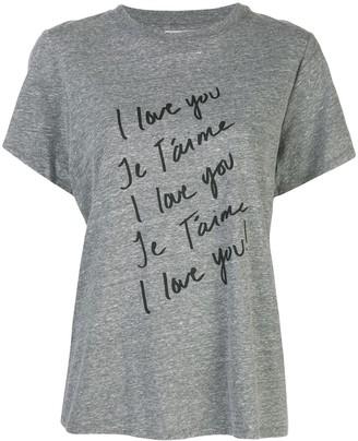Cinq à Sept I Love You T-shirt