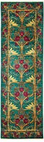 "Solo Rugs Arts and Crafts Runner Rug, 2'6"" x 8'3"""