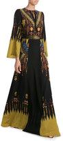 Etro Embellished Silk Maxi Dress