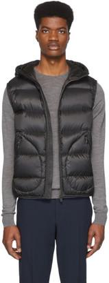 Ralph Lauren Purple Label Black Down Mackay Vest