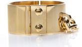 Louis Vuitton Gold Lock Me Manchette Bracelet