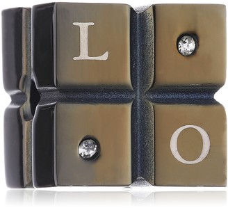 CORED E17 Unisex 'Love Dice' Pendant Stainless Steel Without Chain