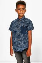 Boohoo Boys Smart Short Sleeved Shirt