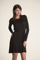 Velvet Khali Dress in Black