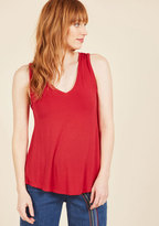 Endless Possibilities Tank Top in Cherry in XL