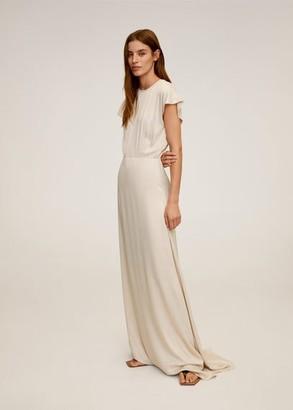 MANGO Lace back dress