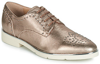 JB Martin PRETTYS women's Casual Shoes in Gold