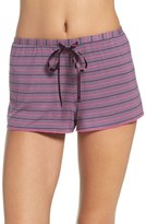 PJ Salvage Women's Stripe Jersey Shorts