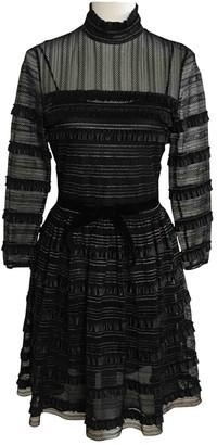 Philosophy di Lorenzo Serafini Black Lace Dress for Women