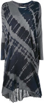 Raquel Allegra tie-dye T-shirt dress - women - Cotton/Polyester - 0