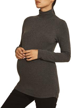 Tellus Mater Maternity Kaya Turtleneck Top