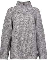 Alexander Wang Ribbed-Knit Cotton-Blend Turtleneck Sweater