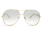 Chloé Nola aviator sunglasses