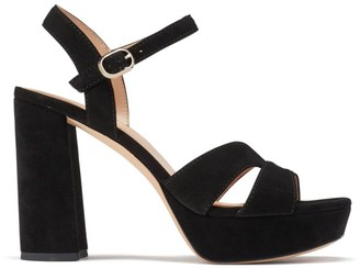 Kate Spade Delight Suede Platform Sandals