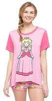 Nintendo Womens Princess Peach Pajama Set