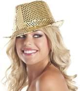 Be Wicked Women's Sequin Fedora Hat