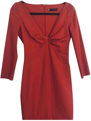 DSQUARED2 Red Cotton - elasthane Dresses