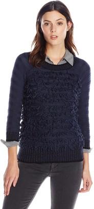 Heather B Women's Luppy Fringe Pullover