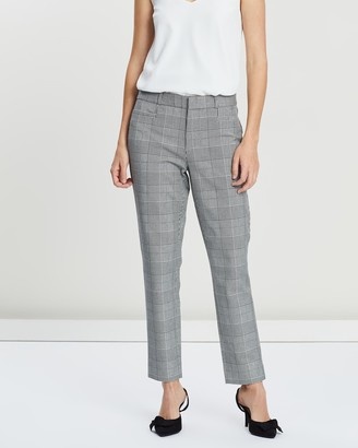 Banana Republic Sloan Glen Plaid Trousers