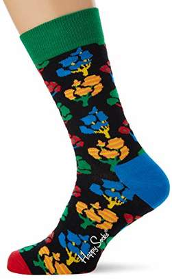 Happy Socks Men's Tree Sock (Multicolour 730), (Size:41-46)