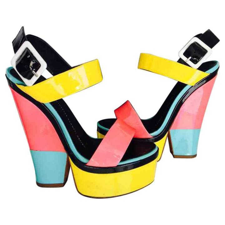Giuseppe Zanotti Patent leather sandal