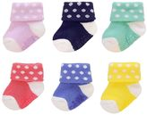 Carter's Baby 6-pk. Stripe & Applique Socks
