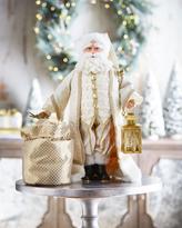 Christopher Radko Golden Baroque Claus